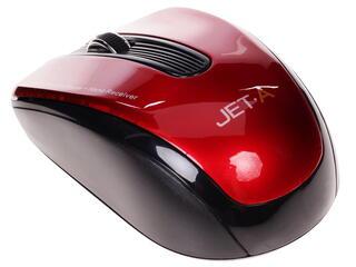 Мышь беспроводная Jet.A Comfort OM-U32G красный
