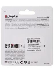 Карта памяти Kingston SD10VG2/16GB SDHC 16 Гб
