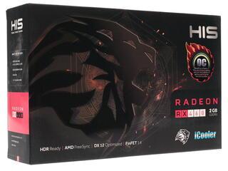 Видеокарта HIS AMD Radeon RX 460 [HS-460R2SCNR]