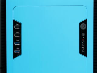 Корпус AeroCool DS Cube Blue голубой