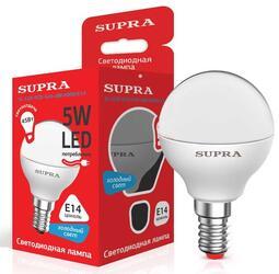 Лампа светодиодная Supra SL-LED-ECO-G45-5W/4000/E14