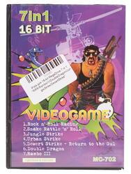 Игра для 16bit (MegaDrive) RRR/RamboIII/DoubleDragon/JungleStrike/DesertStrike