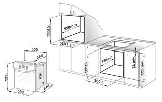 Электрический духовой шкаф Gefest 602-01 К