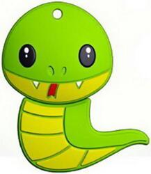 Память USB Flash Mirex Snake Green 16 Гб