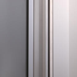 Холодильник с морозильником Sharp SJSC59PVSL серебристый