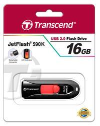 Память USB Flash Transcend JetFlash 590K 16 Гб