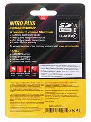 Карта памяти Strontium Nitro Plus SDHC 16 Гб