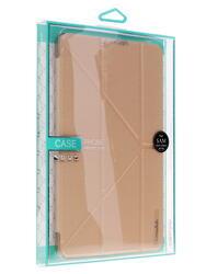 Чехол-книжка для планшета Samsung Galaxy Tab E золотистый