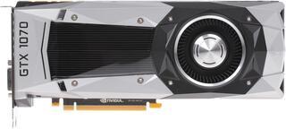 Видеокарта Palit GeForce GTX 1070 FOUNDERS EDITION [NE51070015P2-PG411F]