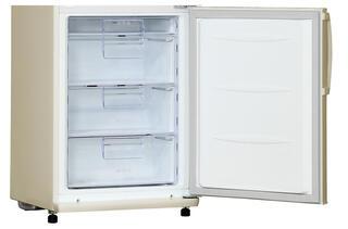 Холодильник с морозильником LG GA-B409UEDA бежевый