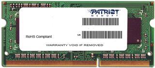 Оперативная память SODIMM Patriot Signature [PSD34G133381S] 4 ГБ