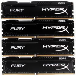 Оперативная память Kingston HyperX FURY [HX421C14FBK4/64] 64 ГБ