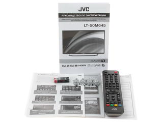 "50"" (127 см)  LED-телевизор JVC LT-50M645 черный"