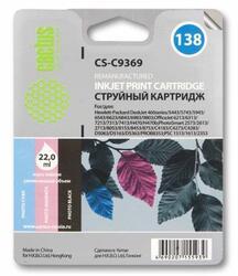 Картридж струйный Cactus CS-C9369 №138