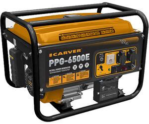 Бензиновый электрогенератор CARVER PPG- 6500Е
