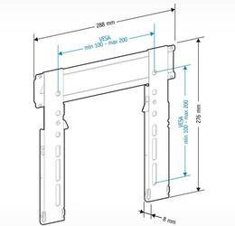 Кронштейн для телевизора Holder LCDS-5040