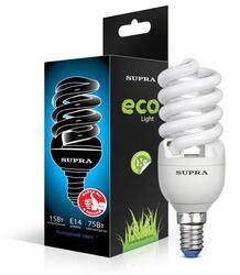 Лампа люминесцентная Supra SL-S-FSP-15/4200/E14-N