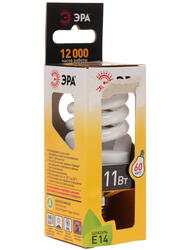 Лампа люминесцентная ЭРА F-SP-11-827-E14