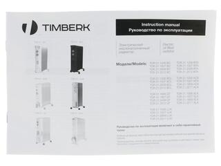 Масляный радиатор Timberk TOR 21.2512 BC белый