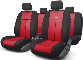 Чехлы на сиденье AUTOPROFI TT-902M красный