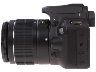 Зеркальная камера Canon EOS 100D Kit 18-55mm DC черный