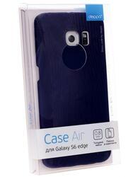 Накладка + защитная пленка  Deppa для смартфона Samsung Galaxy S6 Edge