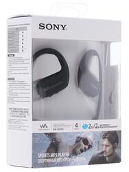 MP3 плеер Sony NW-WS413B черный