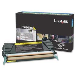 Картридж лазерный Lexmark C748H1YG