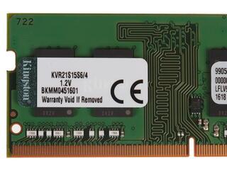Оперативная память SODIMM Kingston [KVR21S15S6/4] 4 ГБ
