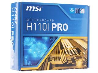 Материнская плата MSI  H110I PRO
