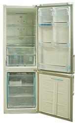 Холодильник с морозильником LG GC-B439WEQK белый