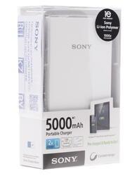 Портативный аккумулятор Sony CP-V5W серый