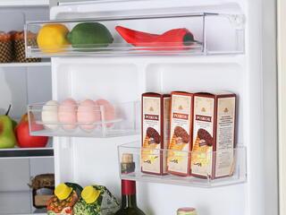 Холодильник с морозильником Samsung RB30J3200EF/WT бежевый