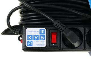 Удлинитель PowerCube PC-LG5-R-20 черный