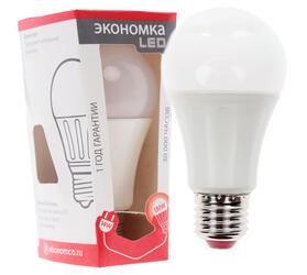 Лампа светодиодная Экономка LED 14w A60 E2745