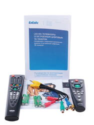 """40"""" (102 см)  LED-телевизор BBK 40LEM-1009/T2C черный"""