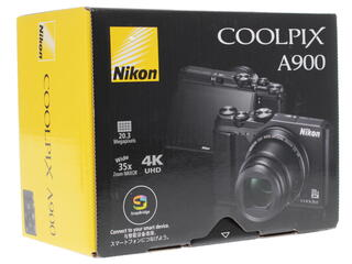 Компактная камера Nikon Coolpix A900 черный