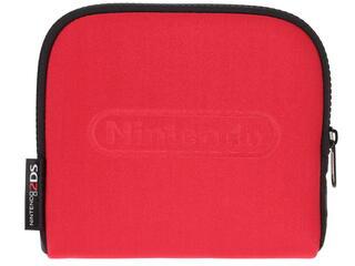 Чехол Nintendo 2DS красный, черный