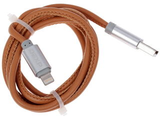 Кабель DEXP U8BrSI100SkM USB - Lightning 8-pin коричневый
