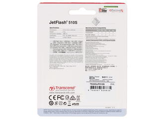 Память USB Flash Transcend JetFlash 510S 32 Гб