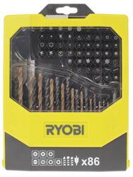 Набор сверл и насадок-бит Ryobi RAK86