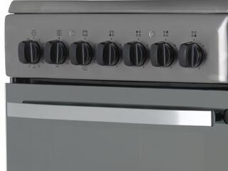 Электрическая плита Hotpoint-Ariston H5VSH2A(X)RU серебристый