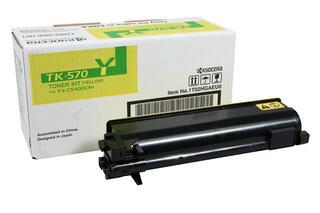 Картридж лазерный Kyocera TK-570Y