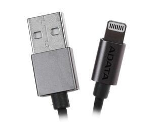 Кабель A-Data [AMFIAL-100CM-CTI] USB - Apple 8-pin серый