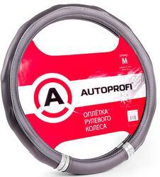 Оплетка на руль AUTOPROFI AP-1408 черный