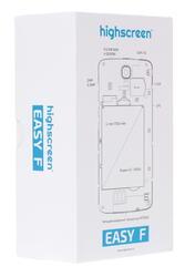 "4.5"" Смартфон Highscreen Easy F 4 Гб белый"