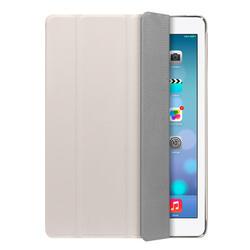 Чехол-подставка Ultra Cover PU и защитная пленка для Apple iPad AIR, белый, Deppa