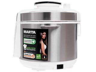 Мультиварка Marta MT-4312 серебристый