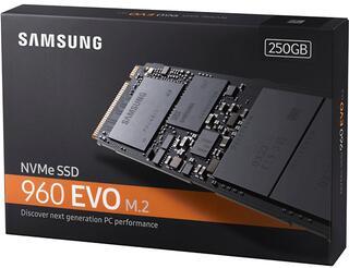 250 ГБ SSD M.2 накопитель Samsung 960 EVO [MZ-V6E250BW]