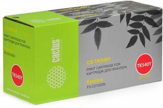 Картридж лазерный Cactus CS-TK540Y